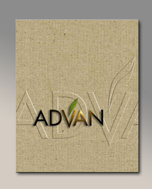 A series of presentation folders developed using tactile, organic surfaces and ink colors to emphasize the biotech nature of the company's products. Click to see more pieces from this series and others.